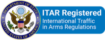 ITAR Registered International Traffic in Arms Regulations Logo